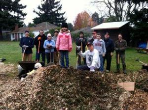 learning garden workparty
